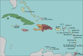 carribbean map test your geography knowledge caribbean islands lizard point