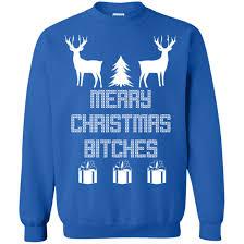 merry bitches sweater deer merry bitches sweater hoodie icestork
