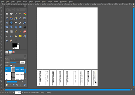 how to create a tear off tabs flyer in the gimp cosmic ace