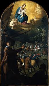 francisco de zurbarán the battle between christians and moors at