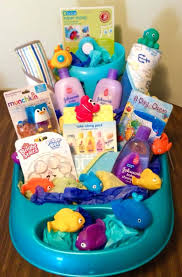 baby shower basket pk baby shower gift baskets for girl vancouver canada diy 8663