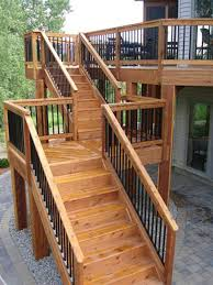 build stairs with ez stairs yard ideas pinterest high deck