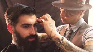 the bearded gentleman haircut and style featuring joel alexander