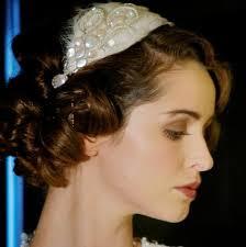 wedding headdress odette feather headdress designer pearl and swarovski feather