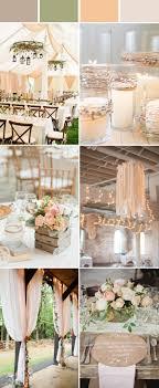 rustic weddings top 10 and chic rustic wedding color ideas stylish wedd
