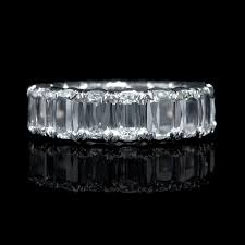 eternity wedding bands ct christopher designs l amour crisscut collection diamond