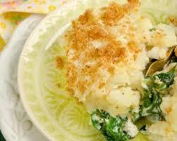 cuisiner poisson blanc recette de hachis parmentier minceur aux épinards et aux restes de