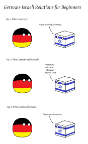 Germany Meme - germany israel relationship explained meme by hsa1n3 memedroid