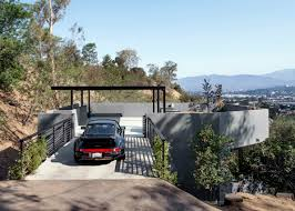 house car parking design car park house in los angeles by anonymous architects