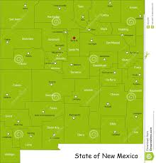 Albuquerque New Mexico Map by Map Of New Mexico State Royalty Free Stock Images Image 9524299