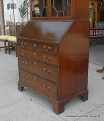 Antique Office Furniture For Sale by Antique English George Iii Mahogany Secretary Desk 1810 For Sale