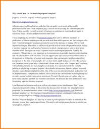 32 sample business proposal lettersbusiness proposal writing a