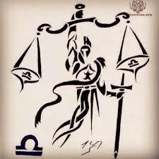 tribal zodiac libra scales tattoo design photo 8 2017 real
