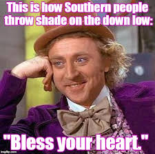 Shade Memes - that s not southern hospitality you are hearing imgflip