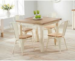 Painted Dining Sets Oak And Cream The Great Furniture Trading - Cream kitchen table