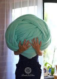 giant yarn giant ball of 100 merino wool 5kg ball of wool