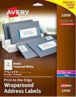 avery u0026reg 5630 clear laser address labels with easy peel 1