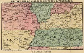 Eastern Tennessee Map by Maps Civil War