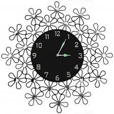 Decorative Metal Wall Clocks Decorative Leaf Metal Wall Clock Antique Metal Wall Clock