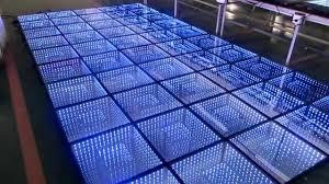 Big D Floor Covering 3d Infinity Led Dance Floor Stage Lighting Dmx Dance Floor Superb