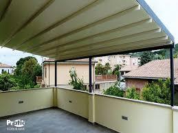 tettoie per terrazze coperture per terrazzi