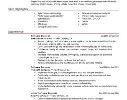 resume software engineer amazing easy resume maker software