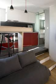 Interior Design Ideas For Apartments Small Apartment In Paris Displaying An Optimized 16m Surface