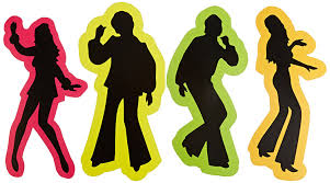 Halloween Silhouette Cutouts Amazon Com Retro 70 U0027s Silhouettes Party Accessory 1 Count 4