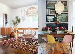 antique table with modern chairs 10 vintage decorating ideas with modern chairs
