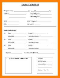 Resume Details Example by Employee Details Form Employee Status Change Form Employee Status
