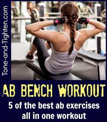 Bench Abs Workout 621 Best Ab Workouts Images On Pinterest Ab Workouts Fitness