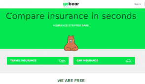 Gobear lets you compare travel and car insurance in singapore