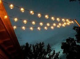 Patio Light Strands Patio Light Strings