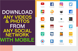 download videos from youtube facebook twitter instagram with mobile