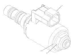 2269629 caterpillar coil as solenoid