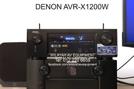 denon home theater receiver denon avr x1200w is a avr x1200w features an advanced video
