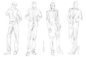 13 clothing design templates for men images fashion design body