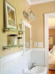 bathroom shabby chic ideas shabby chic bathroom cabinet decor ideas wall mirror with shelf