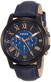 fossil black friday 2017 amazon com fossil men u0027s fs5061 grant black stainless steel watch