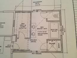 master bathroom design layout the 5 feet 5 feet layout makes the