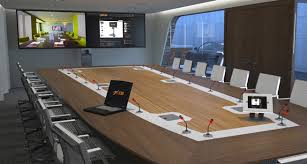 Interactive Meeting Table Conference Rooms Axeos