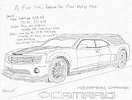 nissan skyline drawing outline chevy camaro reaper u0027s carriage by racerxnfs on deviantart