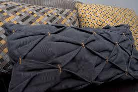 cucire un cuscino come cucire cuscino effetto nido d ape tutorial