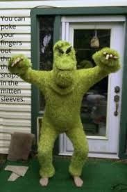 grinch costume grinch green theatrical quality costume