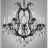 Circular Crystal Chandelier Amazon Com Crystal Chandeliers Ceiling Lights Tools U0026 Home