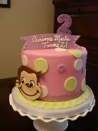 curious george birthday cake pink curious george birthday cake you can see more custom flickr