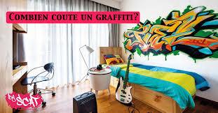 prix graffiti chambre byscat fresques et décorations personnalisées
