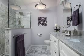 antique 17 bathroom with purple accents on awesome purple bathroom