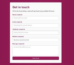 template layout js responsive html5 contact form with js detection free jquery plugins