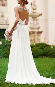shoulder straps soft ruching chiffon wedding dress cute dresses